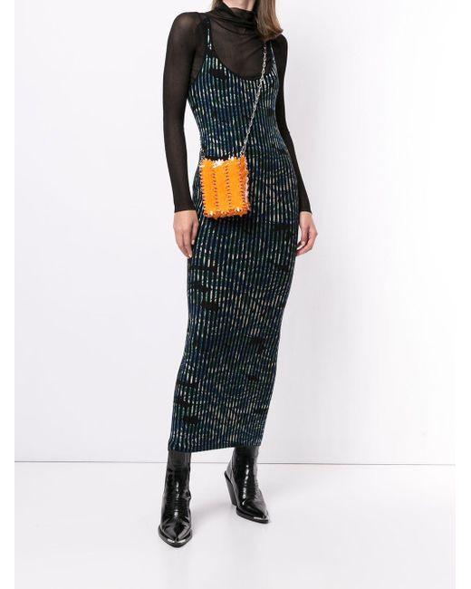 Paco Rabanne フローラル ドレス Multicolor