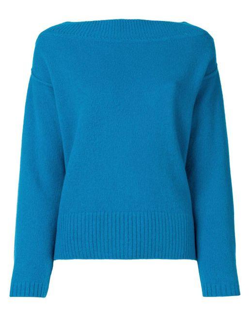 Forte Forte クラシック セーター Blue