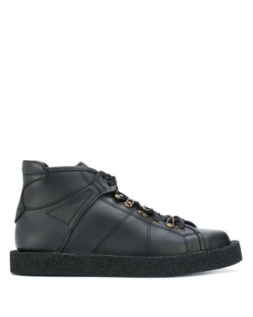 Туфли На Шнуровке Dolce & Gabbana для него, цвет: Black