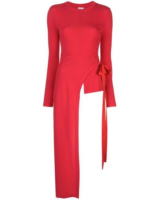 Rosetta Getty ラップスタイル ロングtシャツ Red