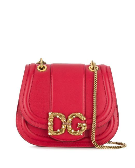 Dolce & Gabbana Dg Amore バッグ Red