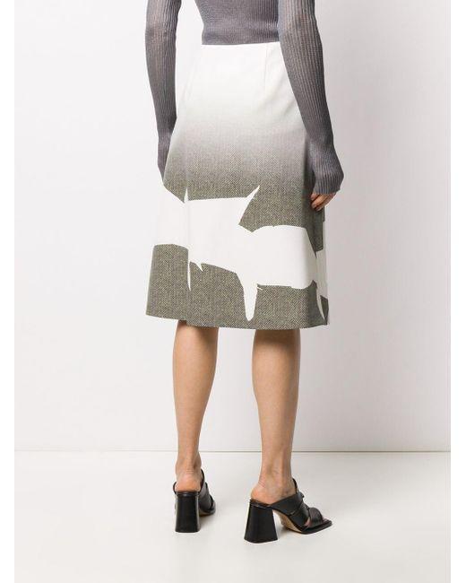 Maison Margiela Aライン スカート Multicolor