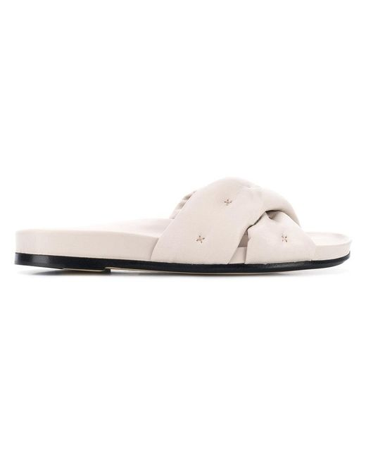 Anya Hindmarch - Multicolor Chubby Crossover Slides - Lyst