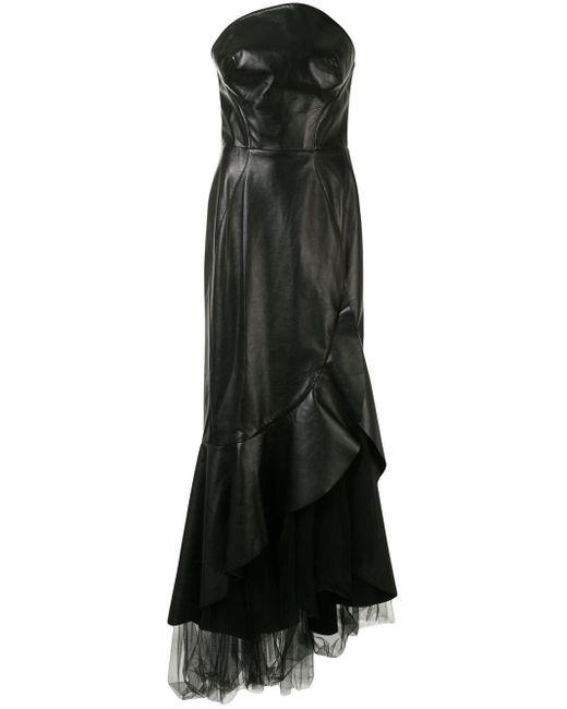 Ermanno Scervino ストラップレス ドレス Black