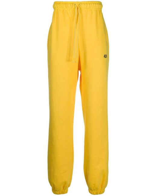 メンズ 424 トラックパンツ Yellow