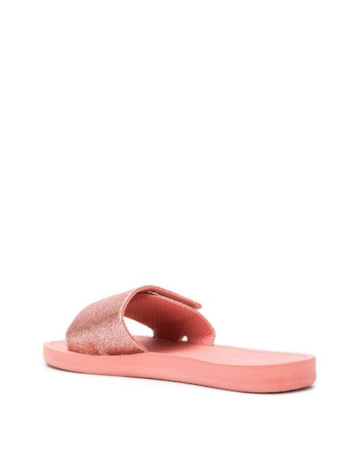 MICHAEL Michael Kors タッチストラップ サンダル Pink