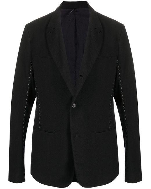 メンズ Masnada シングルジャケット Black