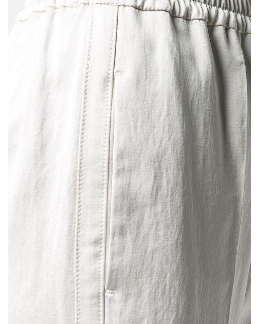 Brunello Cucinelli イージーパンツ White