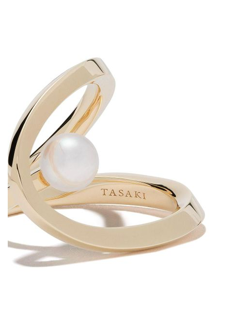 Tasaki Aurora パール リング 18kイエローゴールド Metallic