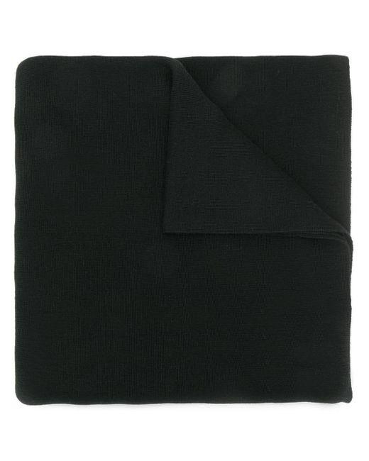 Givenchy カシミア ロゴ スカーフ Black