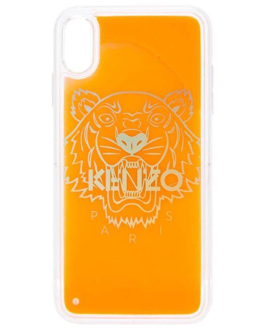 メンズ KENZO タイガー Iphone Xs Max ケース Multicolor
