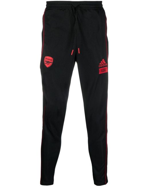 Pantaloni sportivi x Arsenal 90-92 di Adidas in Black da Uomo