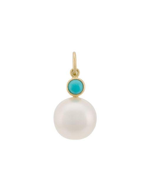 Irene Neuwirth - Blue Pearl Pendant Necklace - Lyst