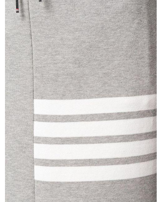 Юбка На Завязке С 4 Полосками Thom Browne, цвет: Gray