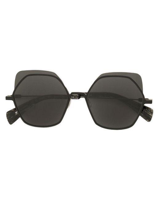 Yohji Yamamoto オーバーサイズ サングラス Black