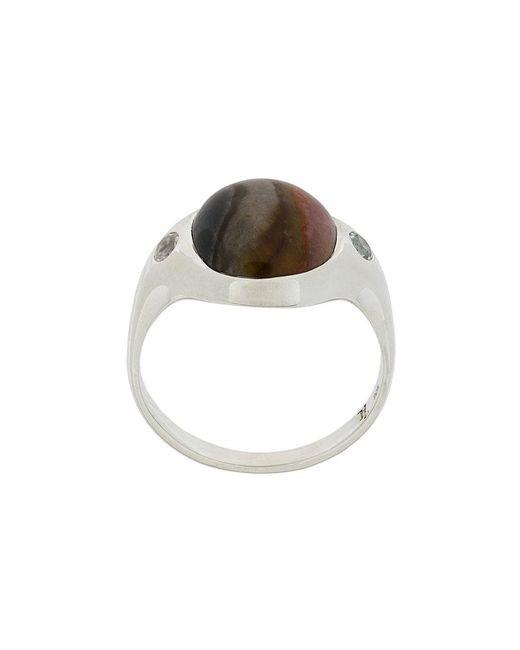 Pamela Love | Metallic Essential Savannah Jasper Ring | Lyst