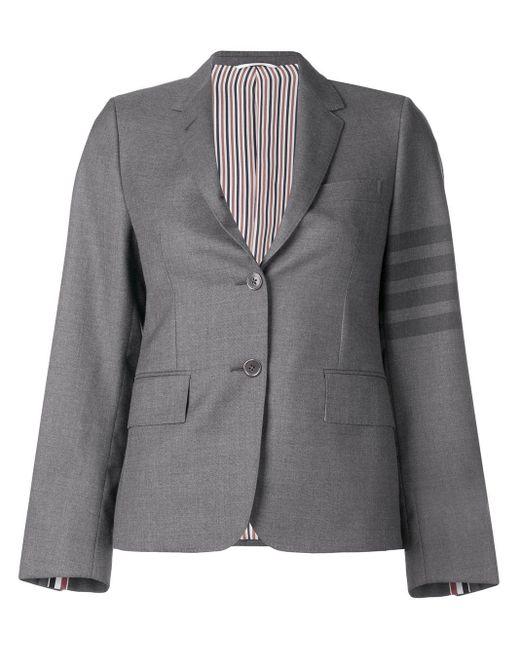 Thom Browne 4bar ナロウ ユニフォーム スポーツコート Gray