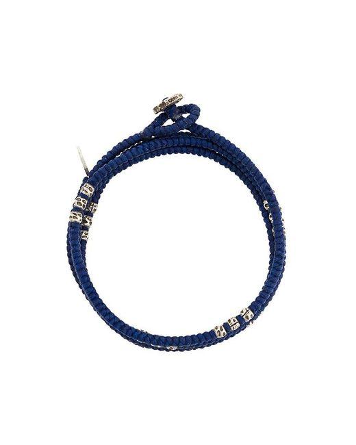 M. Cohen - Blue Knotted Wrap Bracelet - Lyst