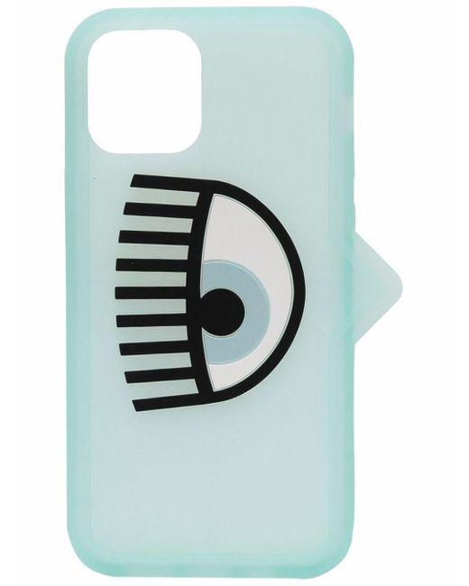 Chiara Ferragni Blue Logo Iphone 12 Pro Case