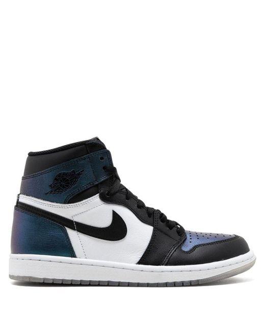 Nike Black Air 1 Retro High Og As 'all Star Game / Chameleon' Shoes - Size 10.5 for men