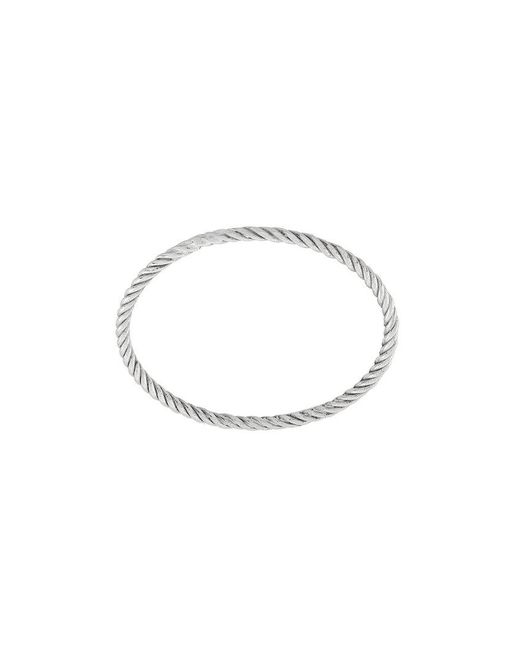 Wouters & Hendrix - Metallic Twisted Rope Ring - Lyst