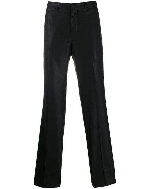 メンズ Giorgio Armani Pre-Owned 2005 ストレートパンツ Black