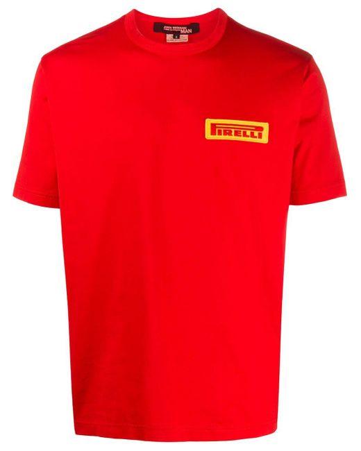メンズ Junya Watanabe X Pirelli パッチ Tシャツ Red