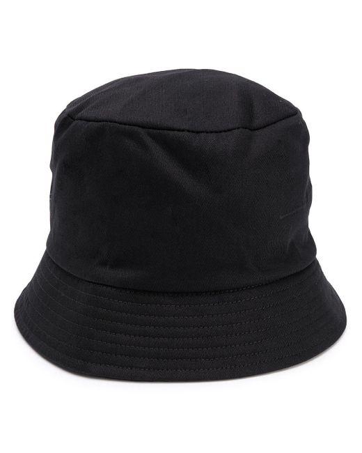 Random Identities Black Mosquito-print Bucket Hat for men