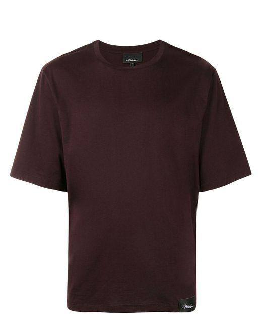 メンズ 3.1 Phillip Lim ロゴ Tシャツ Red