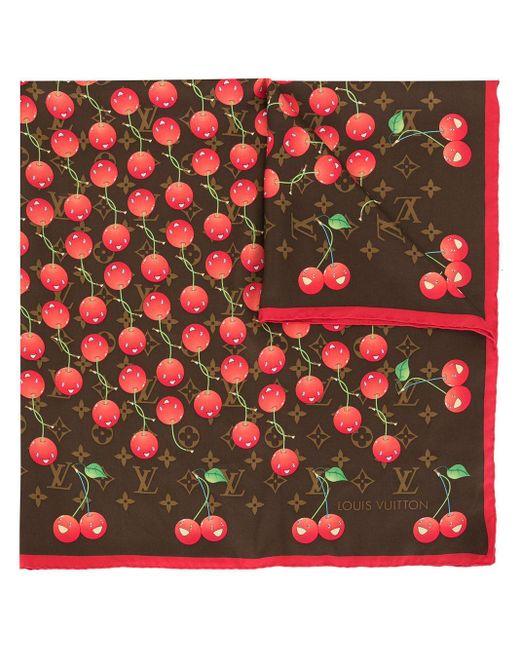 Платок С Принтом Из Коллаборации С Takashi Murakami Louis Vuitton, цвет: Brown