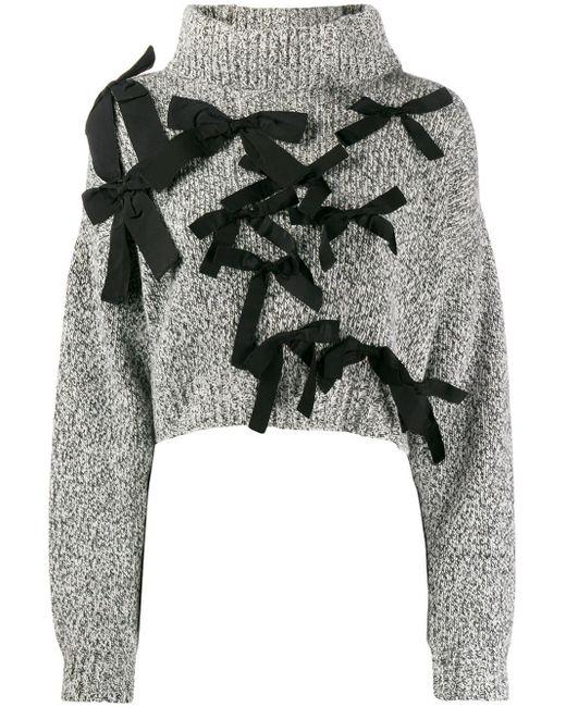 BROGNANO クロップドセーター Multicolor