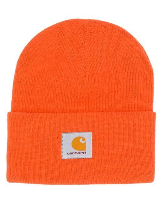 Carhartt WIP ケーブルニット ビーニー Orange