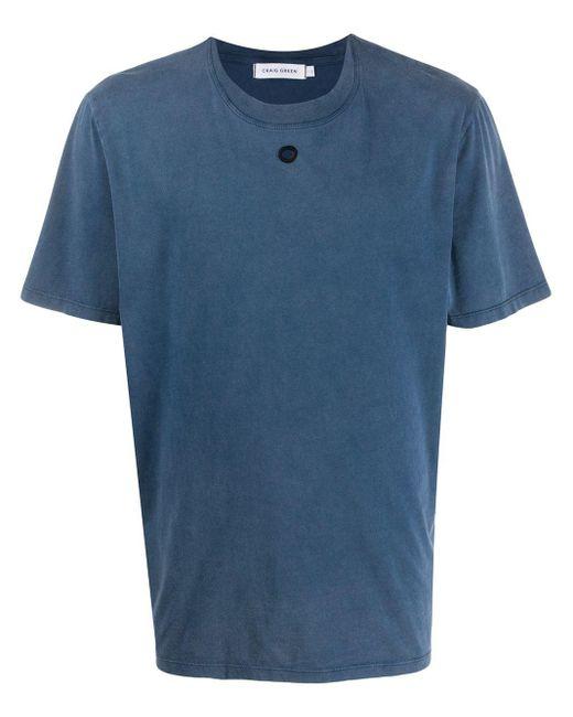 メンズ Craig Green エンブロイダリー Tシャツ Blue