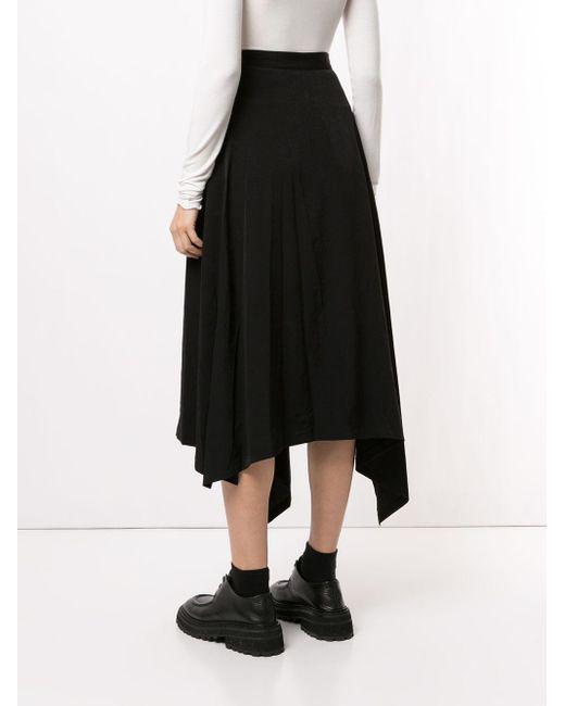Y's Yohji Yamamoto ドレープ スカート Black