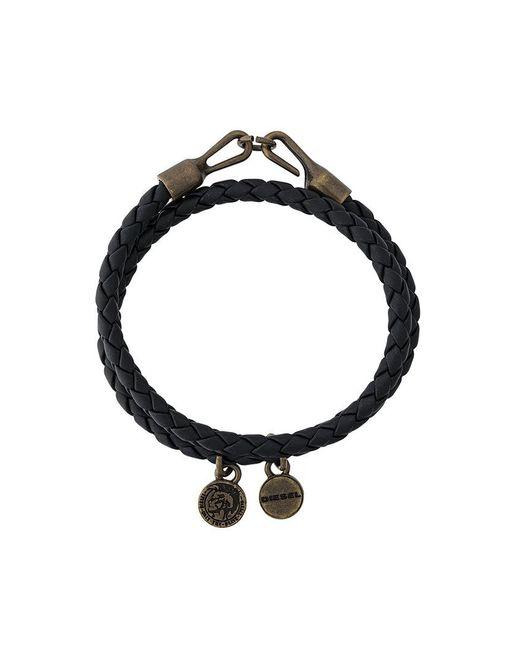 DIESEL - Black Lucy Bracelet - Lyst