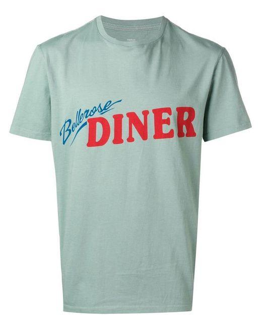 278770339 Bellerose - Green Logo T-shirt for Men - Lyst ...