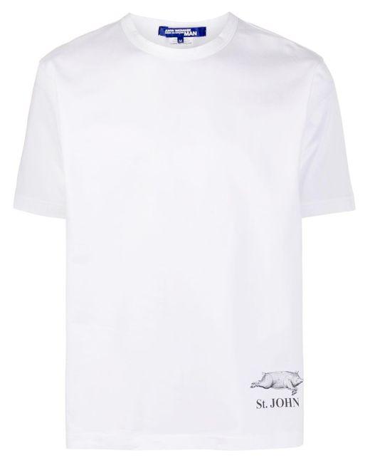 メンズ Junya Watanabe プリント Tシャツ White