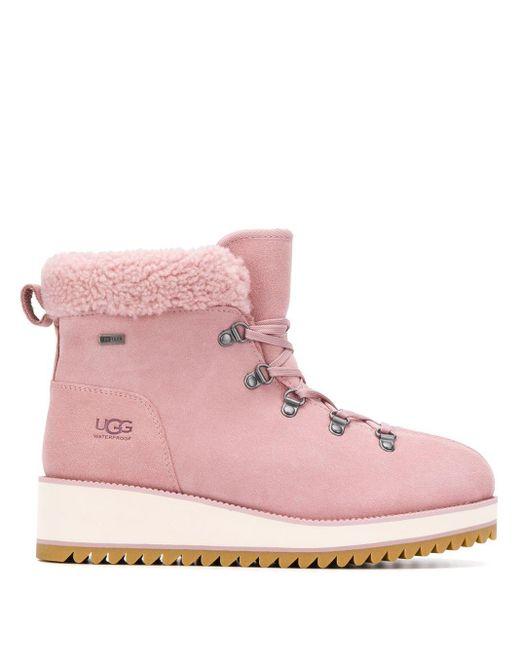 Ugg ムートン マウンテンブーツ Pink
