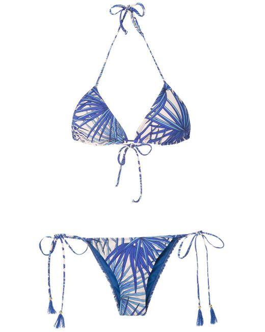 Brigitte Bardot トライアングル ビキニ Blue