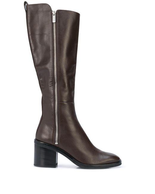 3.1 Phillip Lim Botas altas Antea con tacón de 70 mm de mujer de color marrón