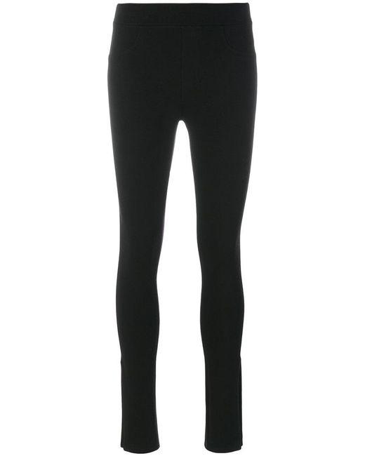 Helmut Lang | Black Pant Style Leggings | Lyst