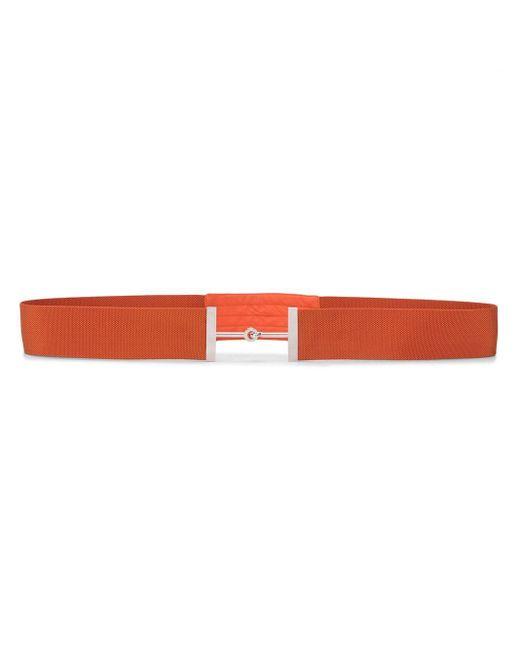 Ремень С Пряжкой Horsebit Pre-owned Hermès, цвет: Orange