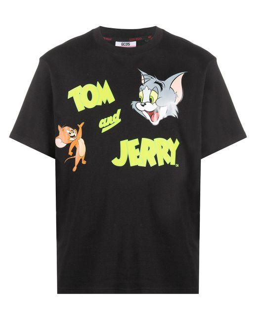 メンズ Gcds Tom And Jerrytm Tシャツ Black