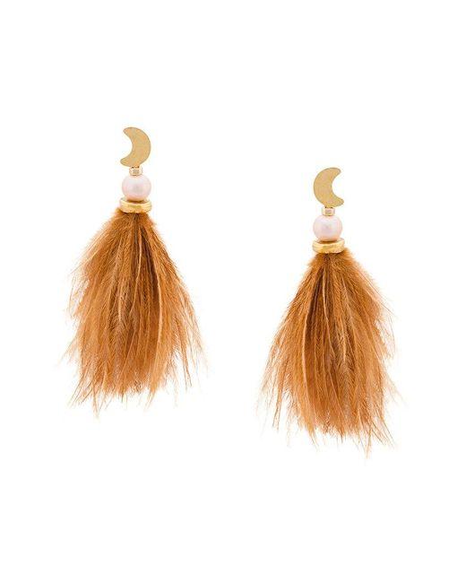 Lizzie Fortunato - Brown Parker Earrings - Lyst