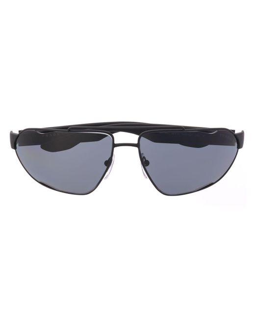 Prada Black Oval Sunglasses for men