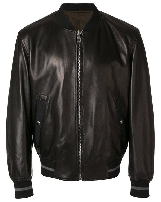 a598464c4 Men's Black Bomber Jacket