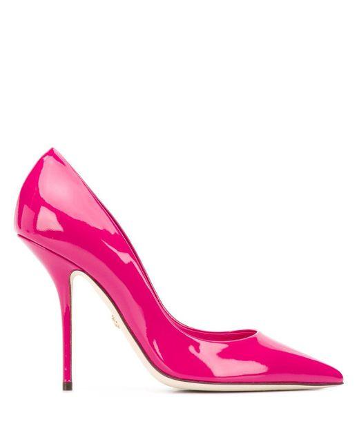 Dolce & Gabbana ロゴ パンプス Pink
