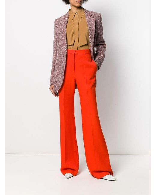 Victoria Beckham ニット シングルジャケット Red