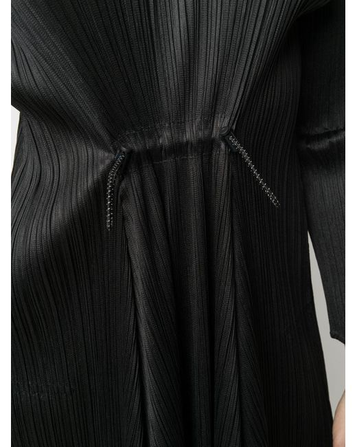 Pleats Please Issey Miyake プリーツ ドレス Black