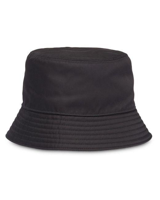 Prada Black Technical Fabric Cap